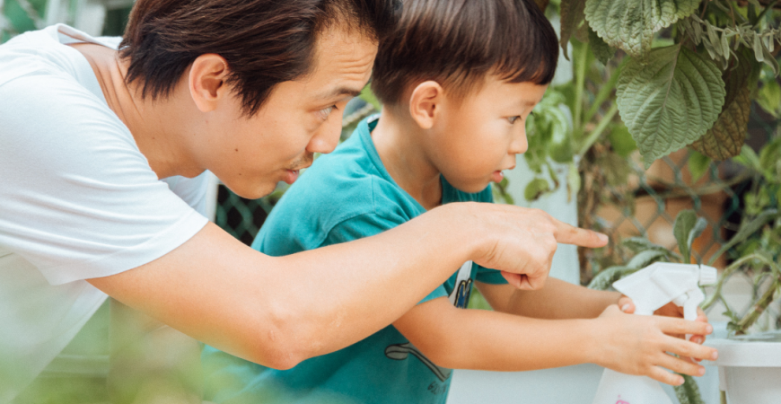 FATHER'S DAY AND THE IMPORTANCE OF EDUCATION IN SHAPING A MORE SUSTAINABLE FUTURE.